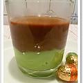 Verrines chocolat / menthe