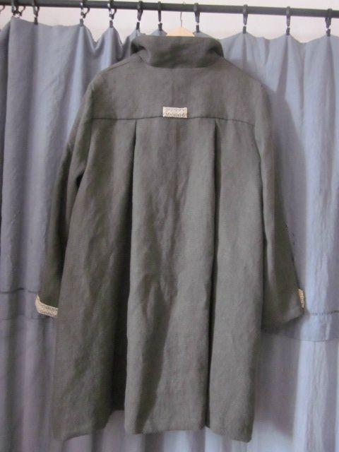 manteau d'été en lin kaki (11)