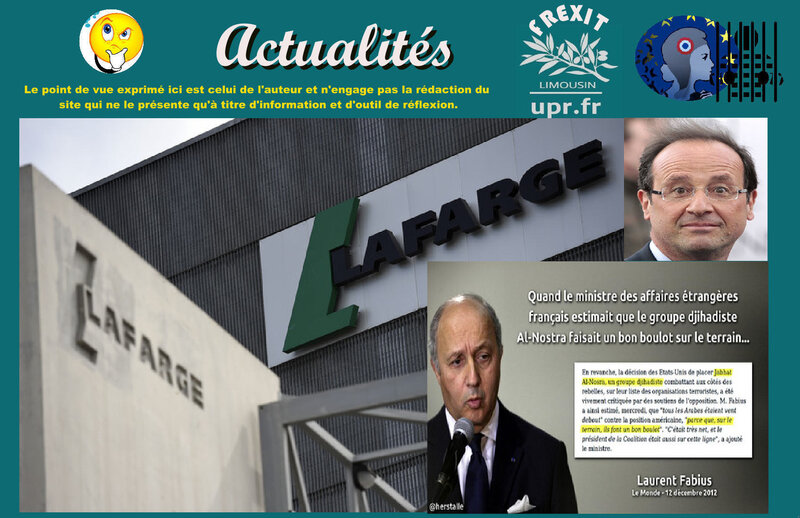 ACT LAFARGE CONDAMNATION