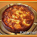 Gateau aux pommes–bolzano apple cake