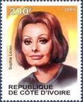 stamp_2009_cote_ivoire_sophia_loren