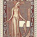 Première série d'Orval, au profit du Fonds de reconstruction de l'abbaye Duchesse Mathilde brun-rouge 60 + 15