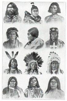 Rel-Amérindiens du Nord des USA et du Canada region Québécoise et Grande Rocheuse