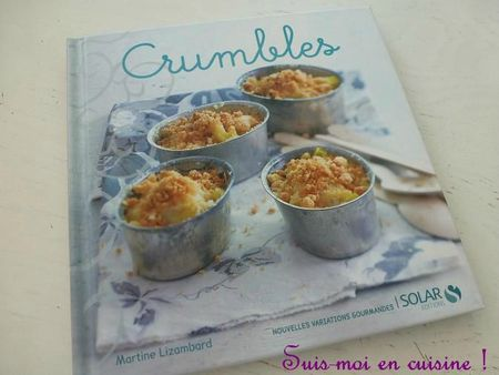 Crumble courgettes basilic pin