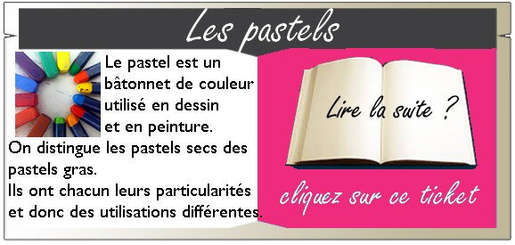 ticket LES PASTELS