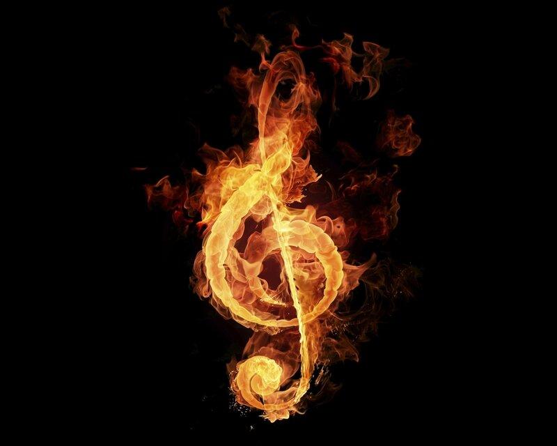 photo-hd-note-de-musique-en-feux