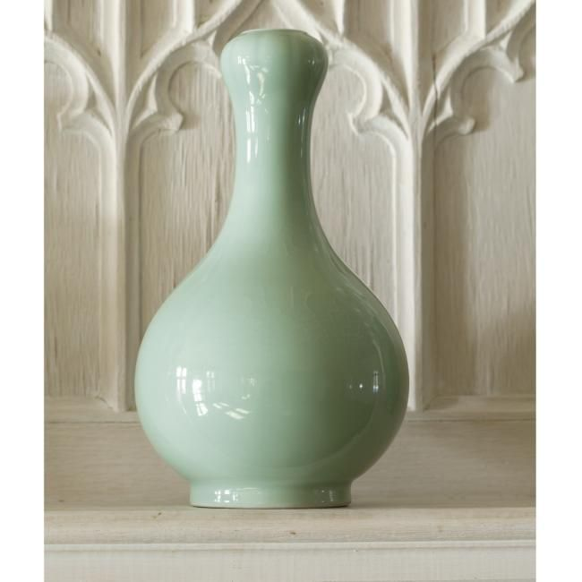 Chinese Celadon Glazed Ru Type Vases From A Palm Beach Private