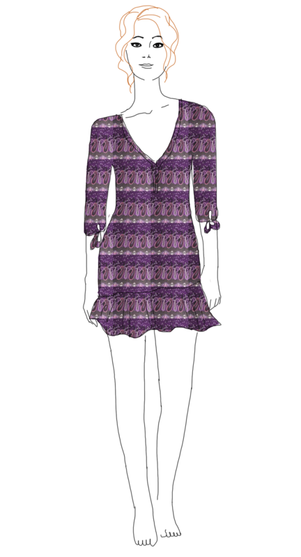 robe cachemir