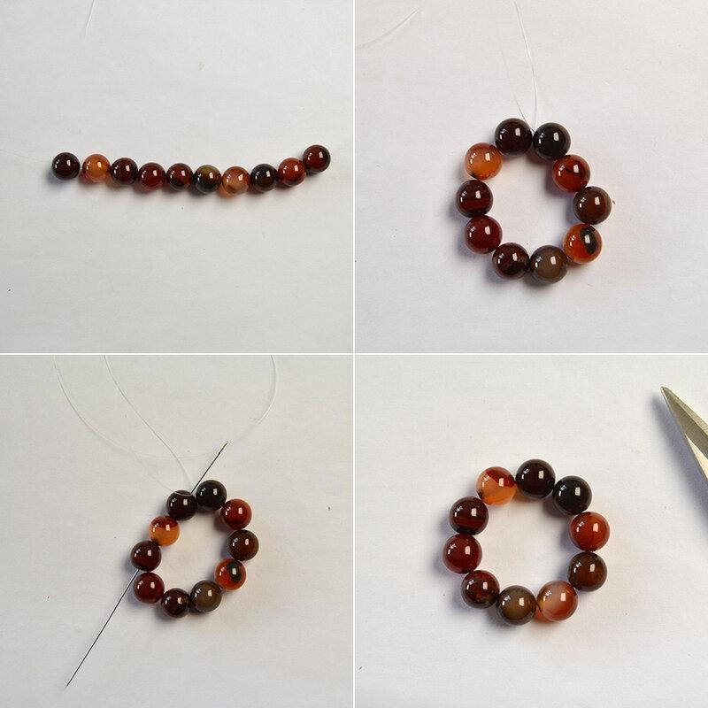 PandaHall-tutorials-on-Round-Beads-Earrings-2