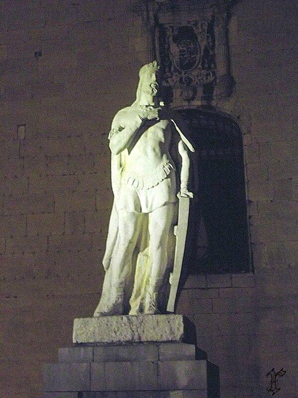 statue Alphonse II ldit le Chaste