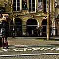 Instantané place Georges Pompidou.