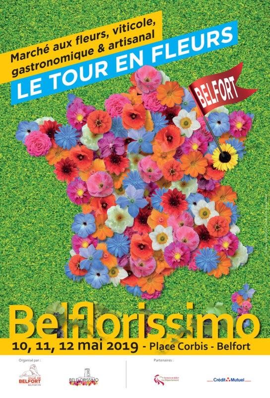 Affiche Belflorissimo 2019