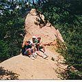 STAGE VTT 1995 (le premier stage d'une longue série)