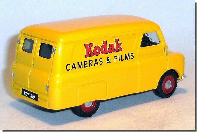 Bedford Van 1-43 Corgi Kodak A-2