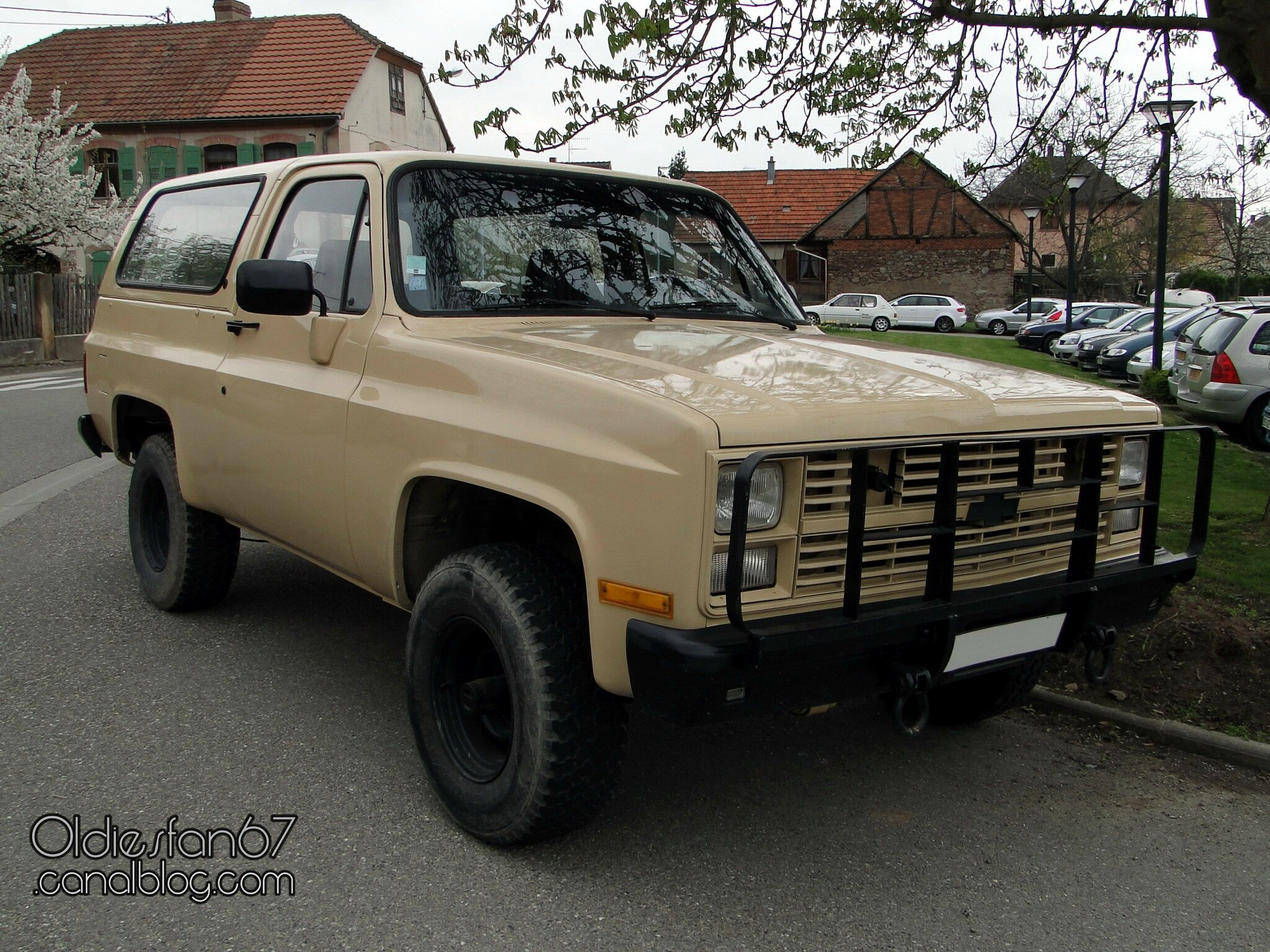chevrolet blazer 4x4 1983 1985 oldiesfan67 mon blog auto. Black Bedroom Furniture Sets. Home Design Ideas
