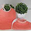 petits pois, orange
