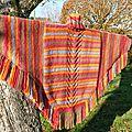 Un poncho haut en couleur! a colorfull poncho for this winter!
