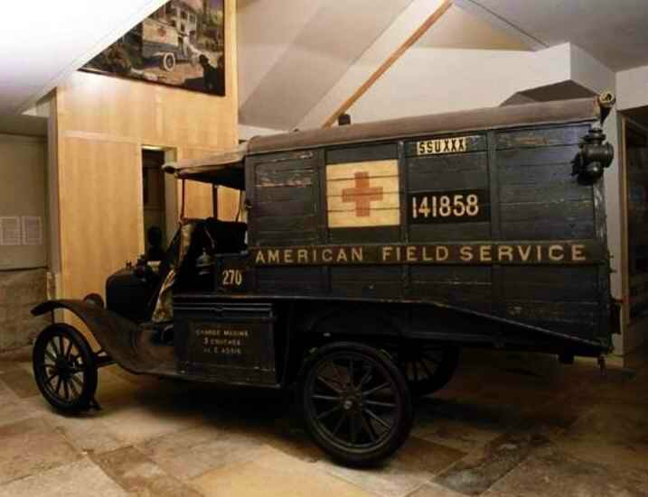 Ambulance Amér Ford 1917