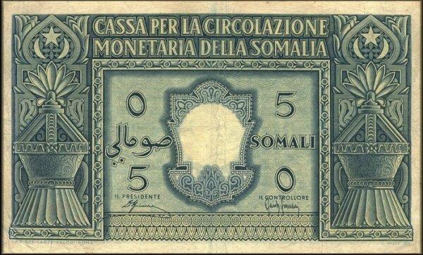 SOMALIE ITALIENNE 1950