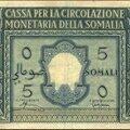 Somalie italienne - 1950