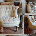 Fauteuil crapaud olympia