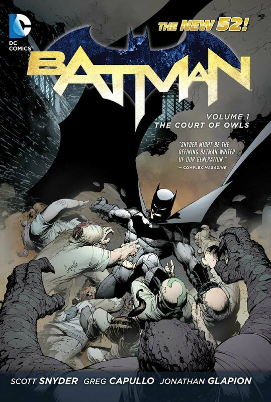 batman vol 1 the court of owls TP