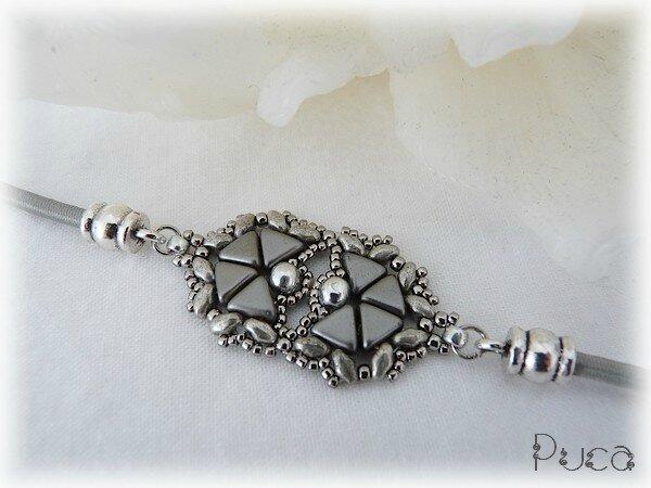 Bracelet Grey Pastel