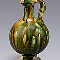 Pottery_sancai_miniature_ewer__China__Tang_dynasty__early_8th_century____Ben_Janssens_Oriental_Art