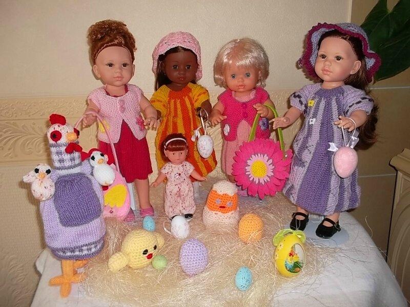 Mme Cocotte, Salomé, Kaly, Prune, & Eden & la petite Manon !!!!!!!
