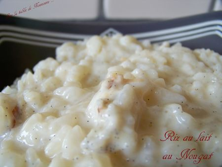Riz au lait au nougat 2