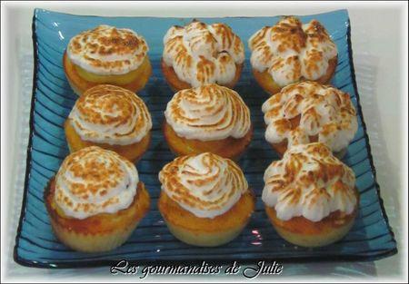 cupcake citron meringue