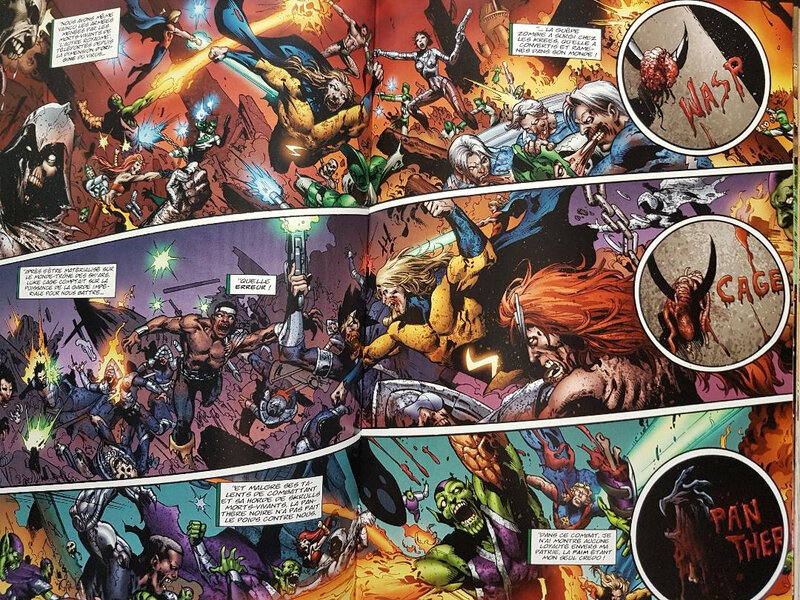 marvel deluxe marvel zombies 03 opération antidote a