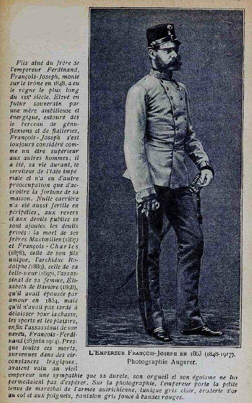 François Joseph Autriche