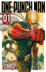 One-Punch Man tome 01 shônen Kurokawa édition Yusuke Murata ONE