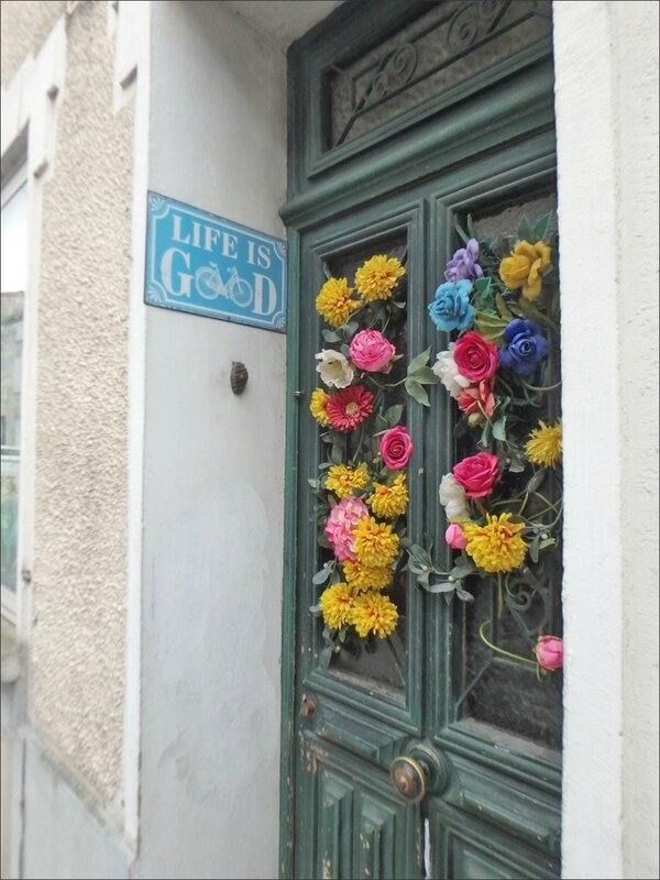 vile Life is good porte fleurs 190317