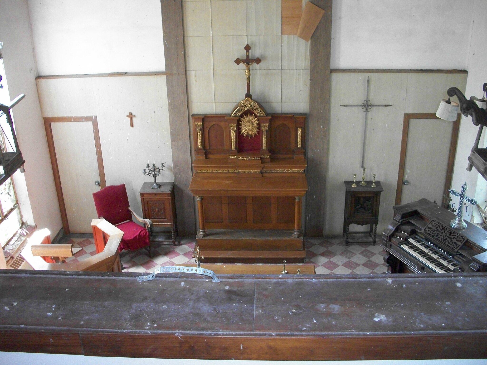 La Chapelle de l'hôpital mémorial de Yorktown
