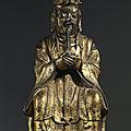Divinité taoïste, chine, c. 17° siècle