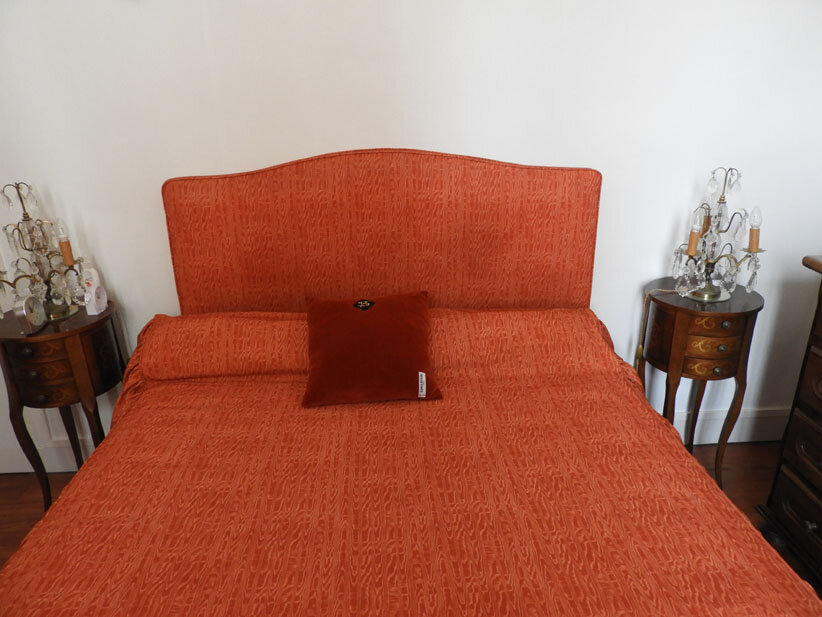 coussin Catherine orange 13