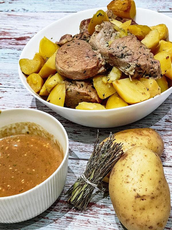 recette cookeo, filet mignon, pomme de terre, moulinex