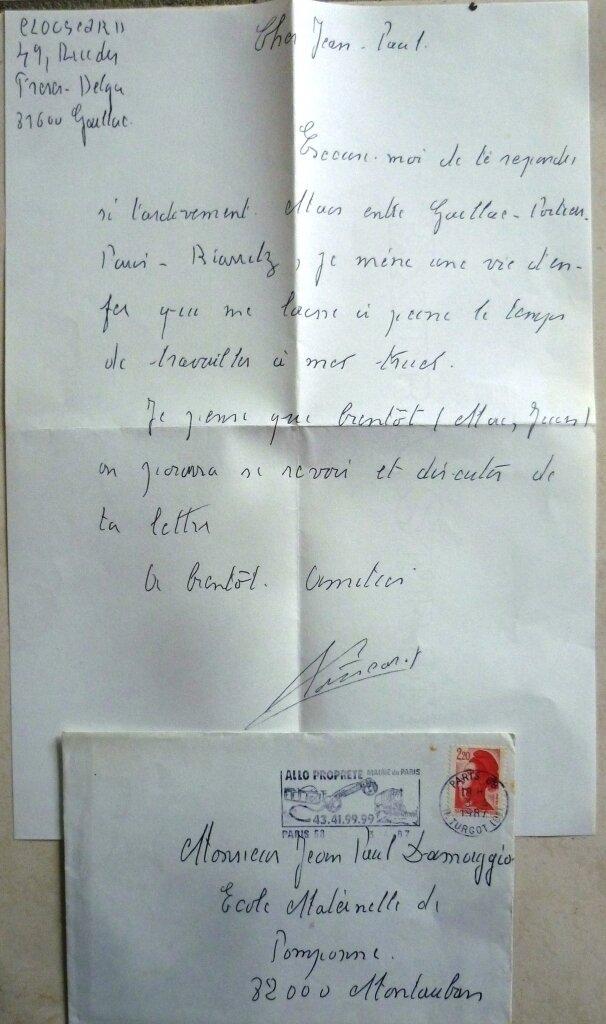 Clouscard, lettre