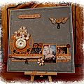 1. Mes pages Shabby, Steampunk.