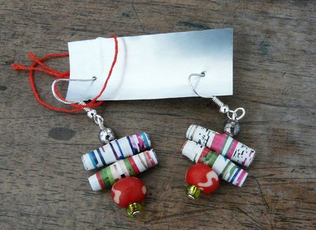 boucles papier multi col