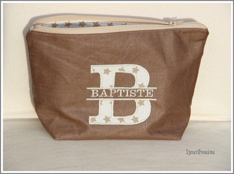 trousse toilette baptiste