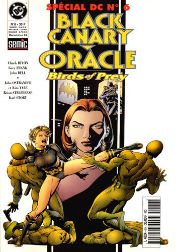 semic special DC 06 black canary oracle birds of prey