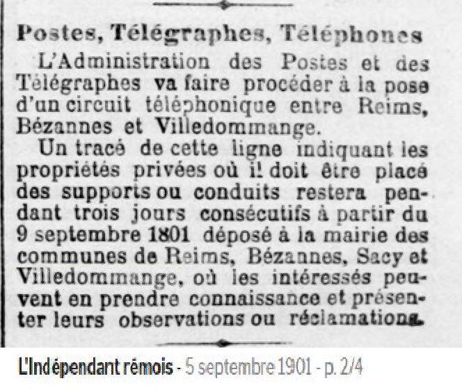 1901 TELEPHONE 1