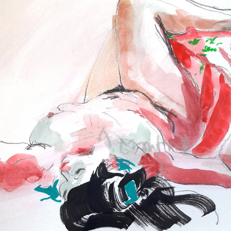 alain montoir aquarelle &