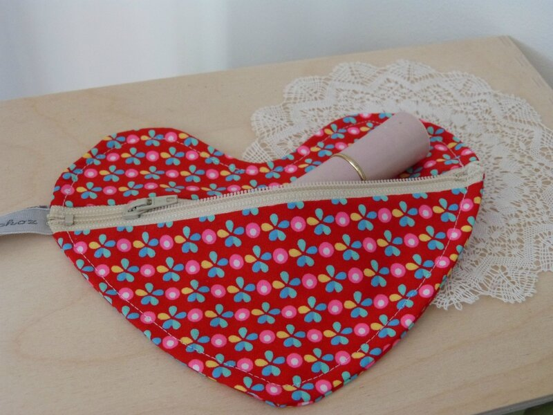 Pochette coeur Machinchoz