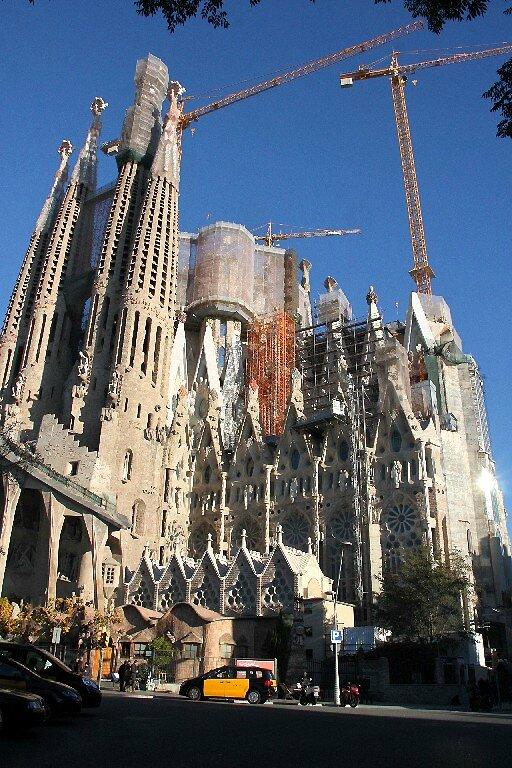 Barcelone, Basilica Sagrada Familia_5857