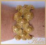 bracelet kosmo doré 3
