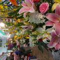 Marche aux fleurs Kunming Chine